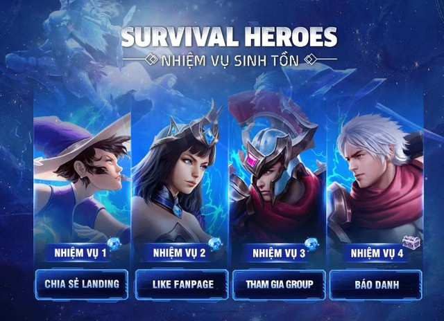 Survival Heroes – Game MOBA kết hợp Battle Royale sắp ra mắt game thủ Việt - Ảnh 5.