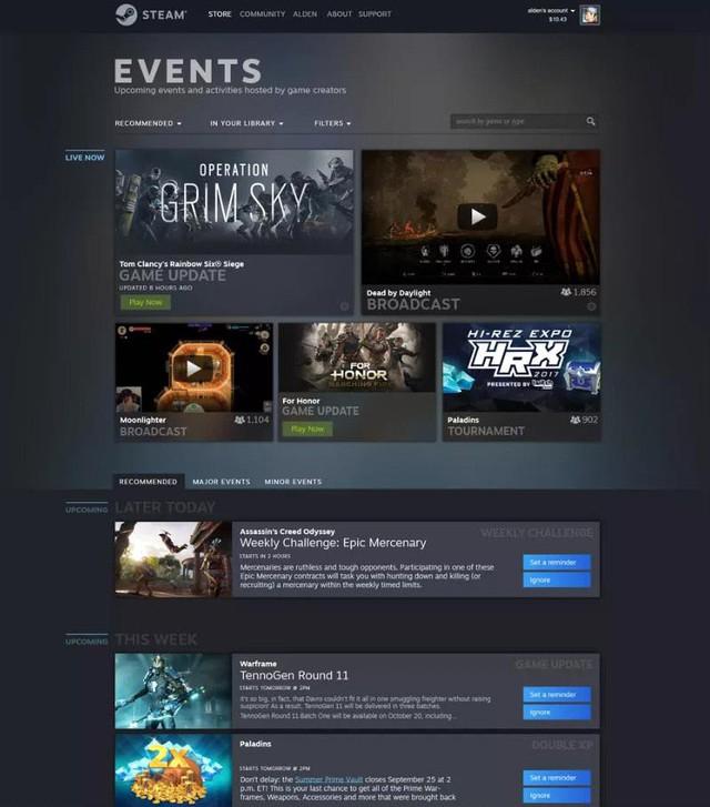 Lộ diện hình ảnh mới của Steam: Siêu đẹp, siêu chất - Ảnh 3.