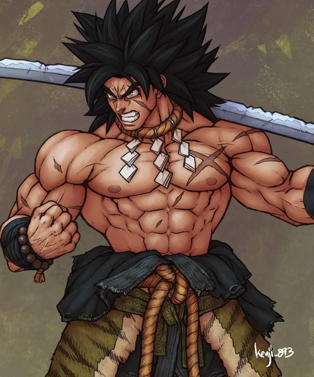 Loạt tranh siêu phẩm khi các nhân vật Dragon Ball vào vai lãnh chúa Samurai - Ảnh 7.