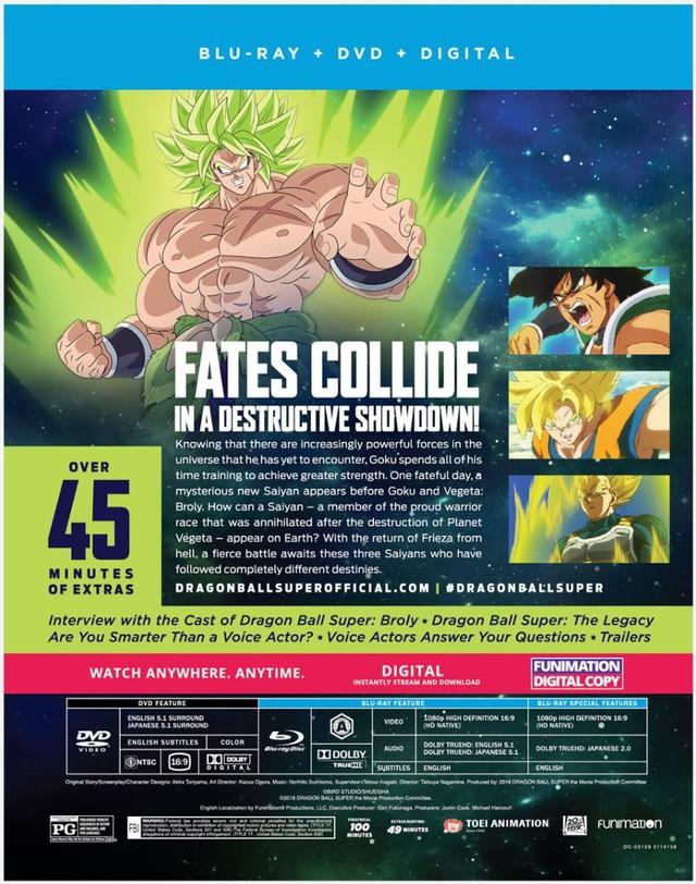 Dragon Ball Super: Broly phiên bản DVD sẽ chiếu thêm 45 phút cảnh bị cắt so với khi chiếu tại rạp - Ảnh 2.