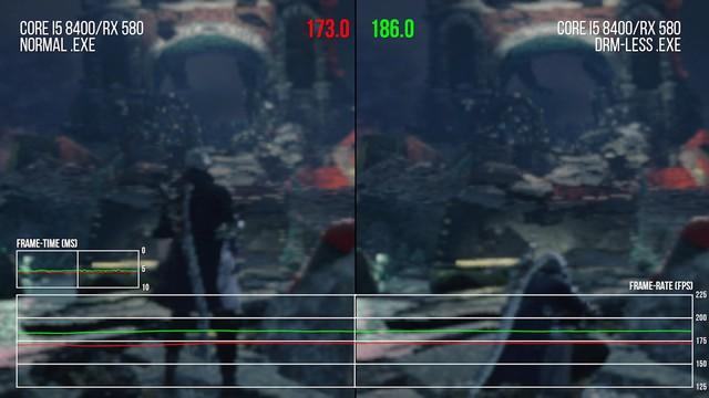 DMC 5 bị crack, một lần nữa sự thật lại được chứng minh: Game sẽ mượt hơn nếu không có Denuvo - Ảnh 4.