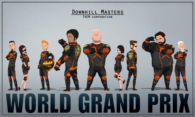 DownHill Master - Game đua xe đường phố cực ngầu cực đỉnh - Ảnh 2.