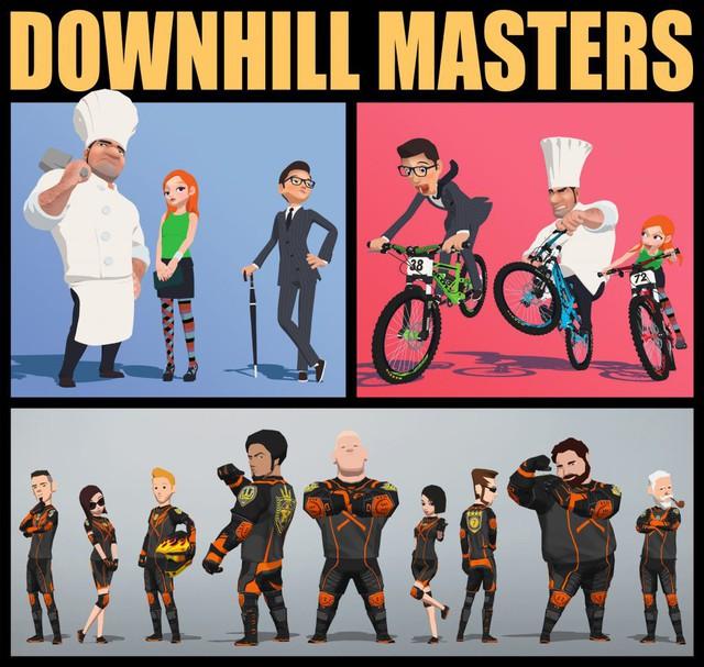 DownHill Master - Game đua xe đường phố cực ngầu cực đỉnh - Ảnh 3.