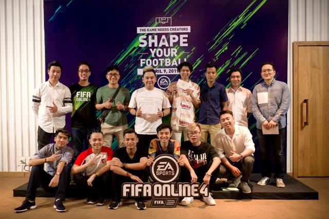 Dàn Streamers, Youtubers hùng hậu nhất Việt Nam hội tụ tại Shape Your Football của FIFA ONLINE 4 - Ảnh 1.