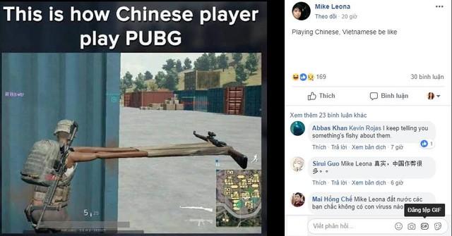 Game thủ PUBG Mobile quốc tế ví người chơi Trung Quốc, Việt Nam là siêu nhân - Ảnh 2.