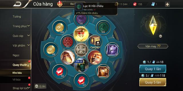 Liên Quân Mobile: Garena tặng game thủ Max, Preyta, Omega và Lumburr trong vòng quay Kho Báu - Ảnh 1.