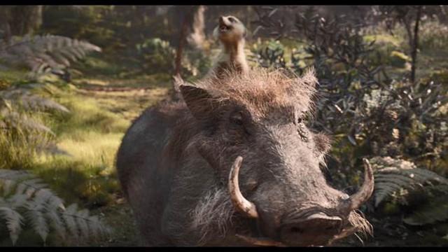 Disney tung tạo hình live-action của bộ đôi hài hước Timon và Pumbaa trong trailer mới của phim Vua Sư Tử - Ảnh 10.