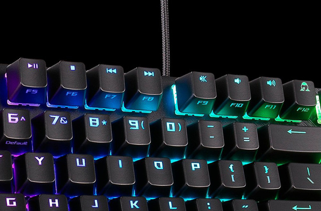 ASUS giới thiệu bàn phím cơ ROG Strix Scope với nút Ctrl to đùng rất tuyệt vời cho game thủ - Ảnh 3.