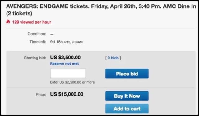 Chi hẳn 300 triệu/cặp cho vé chợ đen Endgame, chỉ fan Marvel mới chơi lớn đến tầm này! - Ảnh 1.