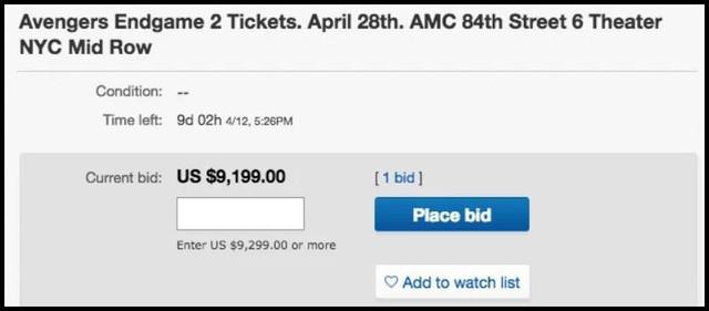 Chi hẳn 300 triệu/cặp cho vé chợ đen Endgame, chỉ fan Marvel mới chơi lớn đến tầm này! - Ảnh 2.