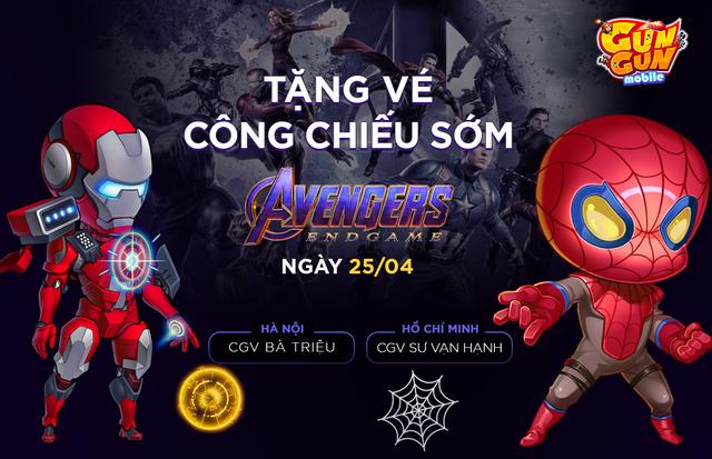 Tặng 264 vé suất chiếu sớm Avengers: Endgame tại Hà Nội và Hồ Chí Minh ngày 25/4 - Ảnh 2.