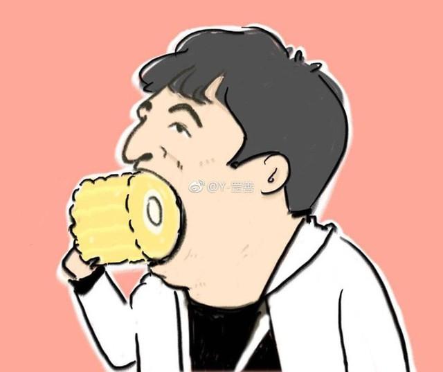 Chẳng cần làm gì nhiều, Vương Tư Thông chỉ ngồi ăn ngô cũng lên top tìm kiếm - Ảnh 2.