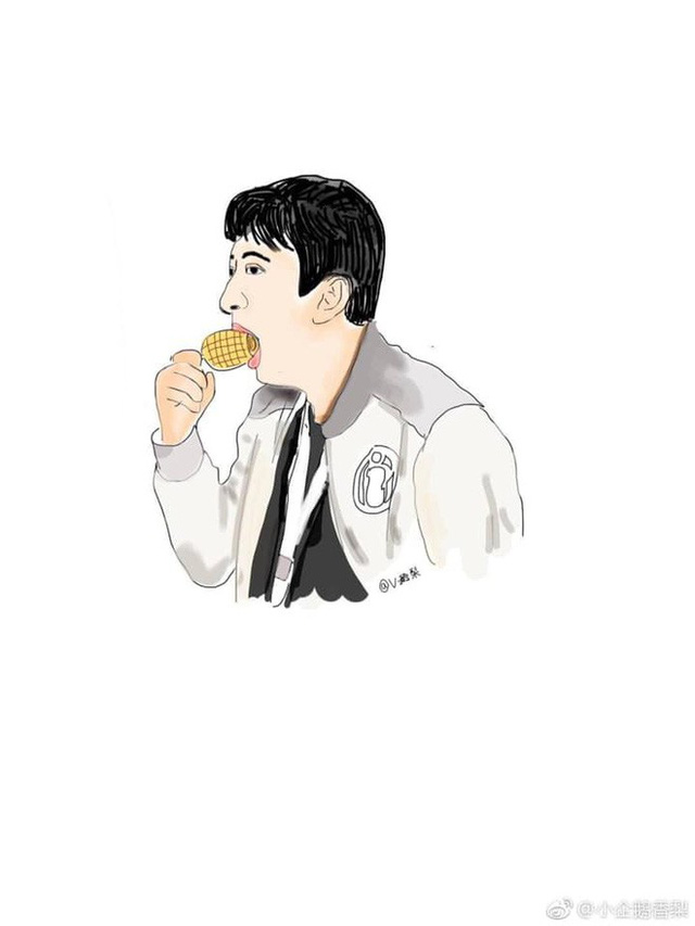 Chẳng cần làm gì nhiều, Vương Tư Thông chỉ ngồi ăn ngô cũng lên top tìm kiếm - Ảnh 3.
