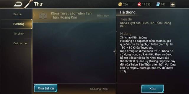 Liên Quân Mobile: Garena lập trình sai giá Tulen Hoàng Kim, Dân chơi mất oan đống tiền - Ảnh 5.