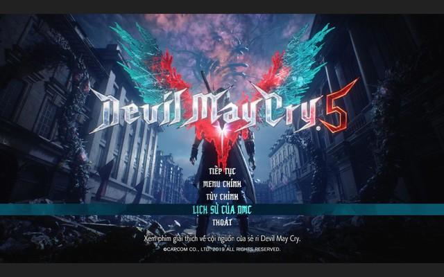 Devil May Cry 5 hoàn thành Việt hóa, game thủ có thể tải và chơi ngay bây giờ - Ảnh 2.