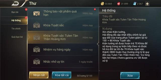 Liên Quân Mobile: Với 2800 Quân Huy được Garena đền bù, game thủ VIP sẽ mua cái gì? - Ảnh 2.