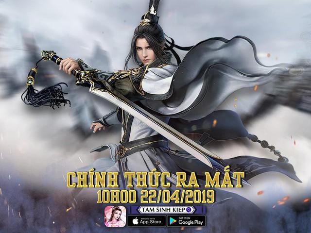 Tam Sinh Kiếp Mobile – Game nhập vai chuẩn cày cuốc ấn định ngày ra mắt 22/04 - Ảnh 1.