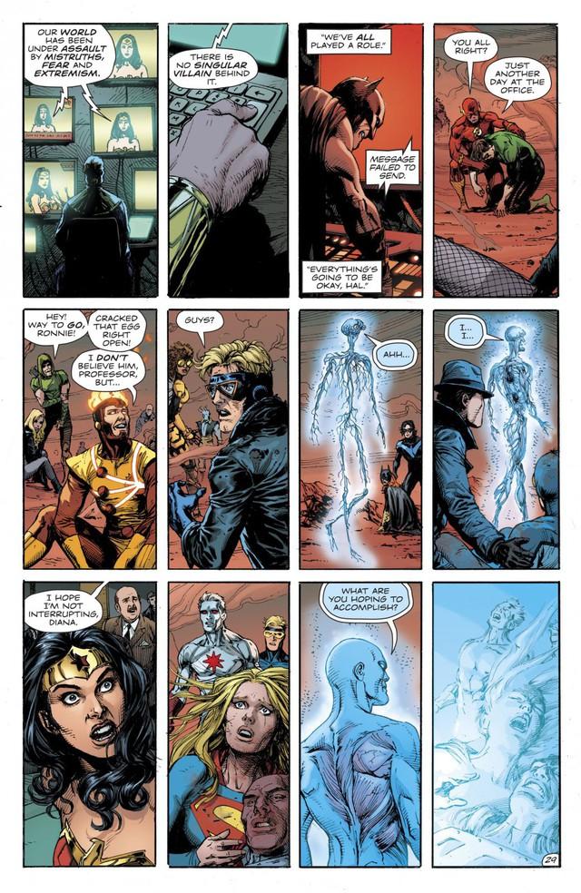 Dr. Manhattan, thực thể quyền năng trong Watchmen đã đánh bại các siêu anh hùng DC như thế nào? - Ảnh 10.