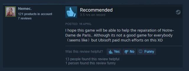 Assassin's Creed: Unity bùng nổ đánh giá tích cực trên Steam - Ảnh 2.