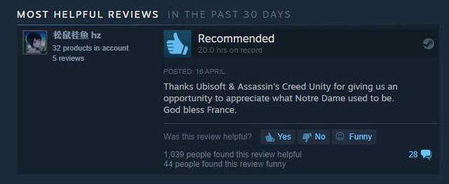 Assassin's Creed: Unity bùng nổ đánh giá tích cực trên Steam - Ảnh 3.