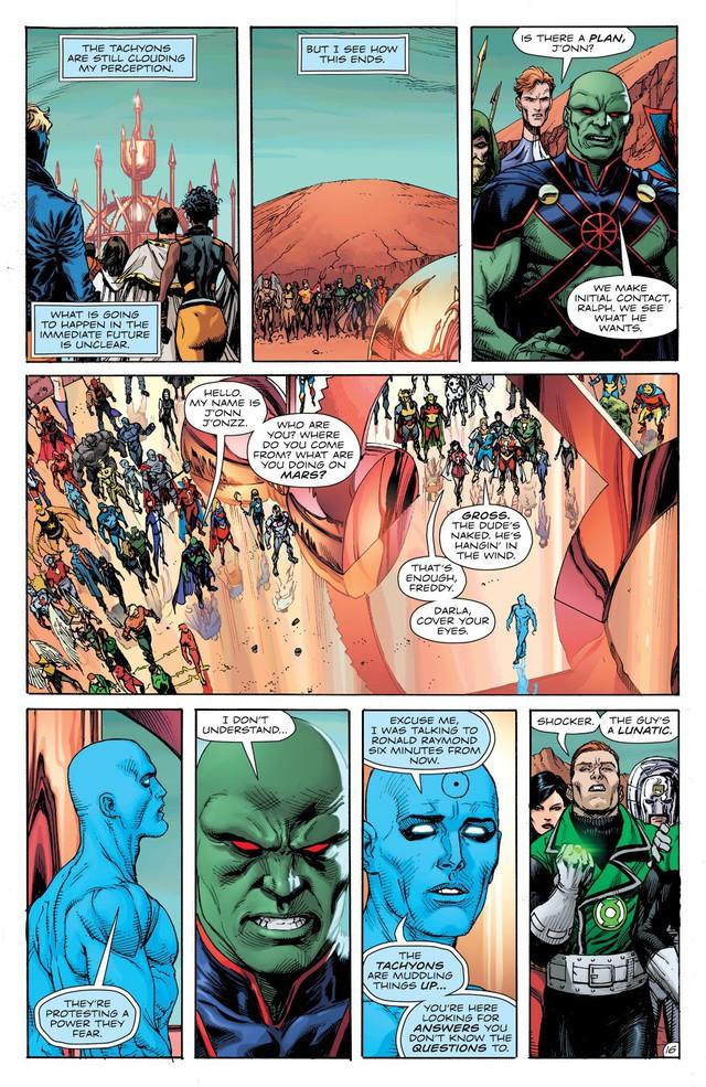 Dr. Manhattan, thực thể quyền năng trong Watchmen đã đánh bại các siêu anh hùng DC như thế nào? - Ảnh 4.