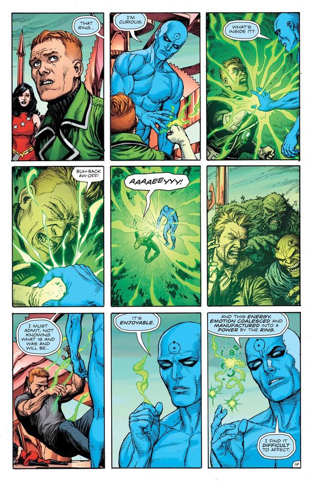 Dr. Manhattan, thực thể quyền năng trong Watchmen đã đánh bại các siêu anh hùng DC như thế nào? - Ảnh 6.