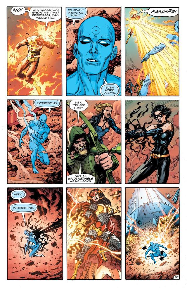 Dr. Manhattan, thực thể quyền năng trong Watchmen đã đánh bại các siêu anh hùng DC như thế nào? - Ảnh 8.