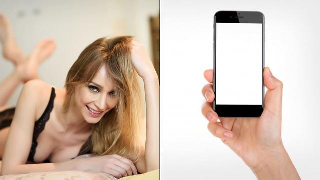 Sử dụng điện thoại như đồ chơi người lớn, nữ streamer xinh đẹp bị ban thẳng cánh - Ảnh 1.