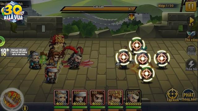 Đề cao tính chiến thuật và cảm xúc của người chơi, 3Q Ai Là Vua sẽ vượt qua khuôn khổ các game thẻ tướng thông thường? - Ảnh 8.