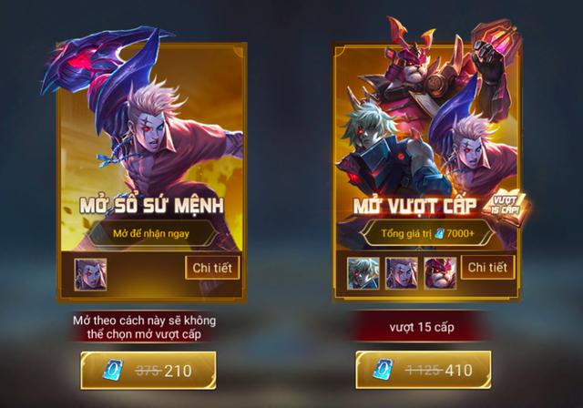 Liên Quân Mobile: Bỏ 100 nghìn đồng được 2 tướng và 4 skin, game thủ vẫn chê nhạt, tại sao? - Ảnh 1.