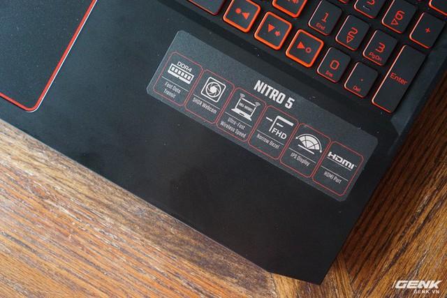 Cận cảnh laptop Acer Nitro 5 phiên bản 2019 tại Việt Nam: viền màn hình đã mỏng hơn, trang bị CPU Core i9 và NVIDIA GTX 16 Series - Ảnh 5.