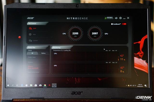 Cận cảnh laptop Acer Nitro 5 phiên bản 2019 tại Việt Nam: viền màn hình đã mỏng hơn, trang bị CPU Core i9 và NVIDIA GTX 16 Series - Ảnh 8.