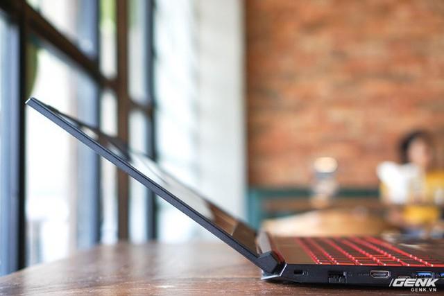 Cận cảnh laptop Acer Nitro 5 phiên bản 2019 tại Việt Nam: viền màn hình đã mỏng hơn, trang bị CPU Core i9 và NVIDIA GTX 16 Series - Ảnh 12.