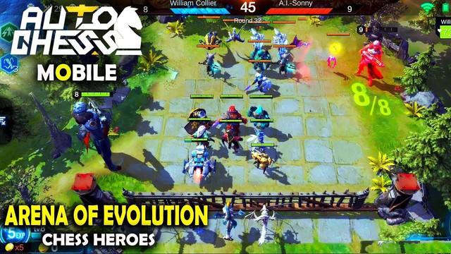 Trải nghiệm Arena of Evolution: Chess Heroes Game Auto Chess đối kháng trên mobile vừa ra mắt! - Ảnh 1.