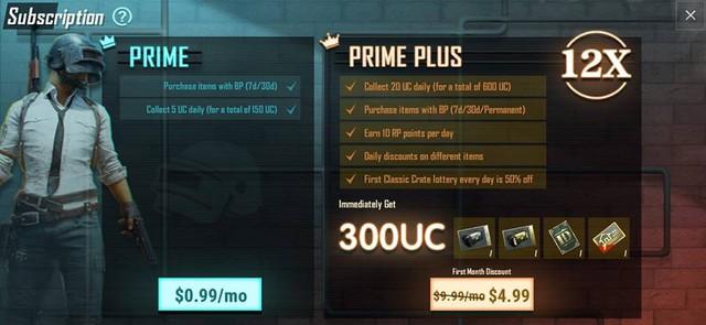 PUBG Mobile: Tính năng VIP xuất hiện, giá gói Prime Plus khoảng 230 nghìn đồng/tháng - Ảnh 1.
