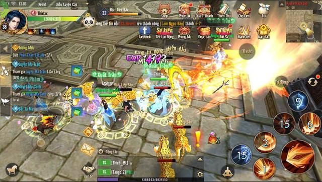 Mẹo kiếm EXP siêu dễ mà không cần train quái dành cho tân thủ Thục Sơn Kỳ Hiệp Mobile - Ảnh 7.