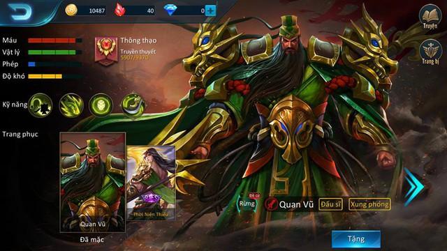 Không AFK, game thủ AOG được tặng FREE skin Quan Vũ, thay vì thưởng thêm vàng như Liên Quân Mobile - Ảnh 1.