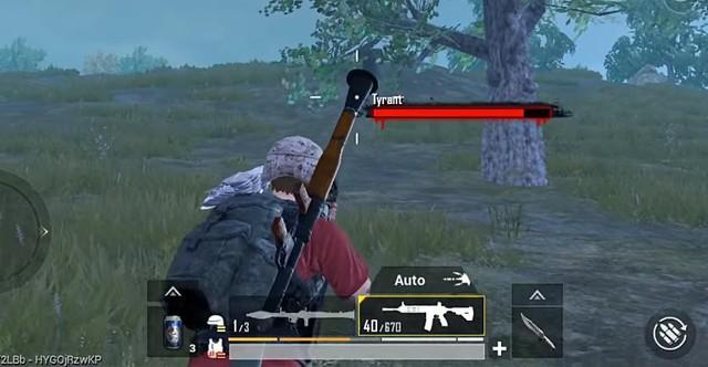 PUBG Mobile: Súng phóng lựu RPG không đủ lực để giải quyết Tyrant chỉ với một phát bắn - Ảnh 4.