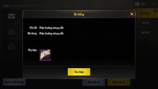Nhập code khi xem giải PMCO, game thủ PUBG Mobile nhận về item giới hạn ngày dùng - Ảnh 3.