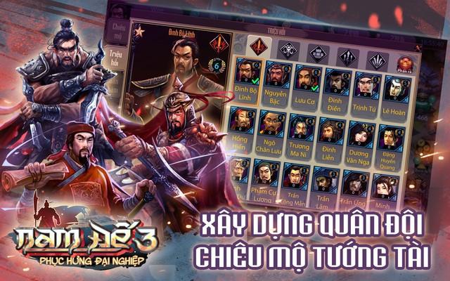 Game dã sử thuần Việt Nam Đế 3 chính thức mở cửa hôm nay, game thủ hãy nhanh chân vào chơi - Ảnh 2.