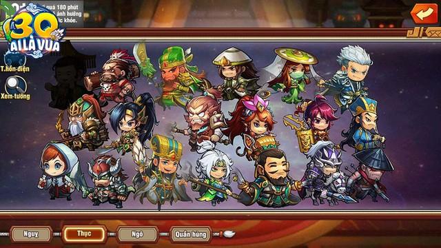 98 tướng, 76 hiệu ứng kỹ năng, 8 trận pháp và 5 thần binh: Những con số khiến fan chiến thuật không thể bỏ qua 3Q Ai Là Vua - Ảnh 2.
