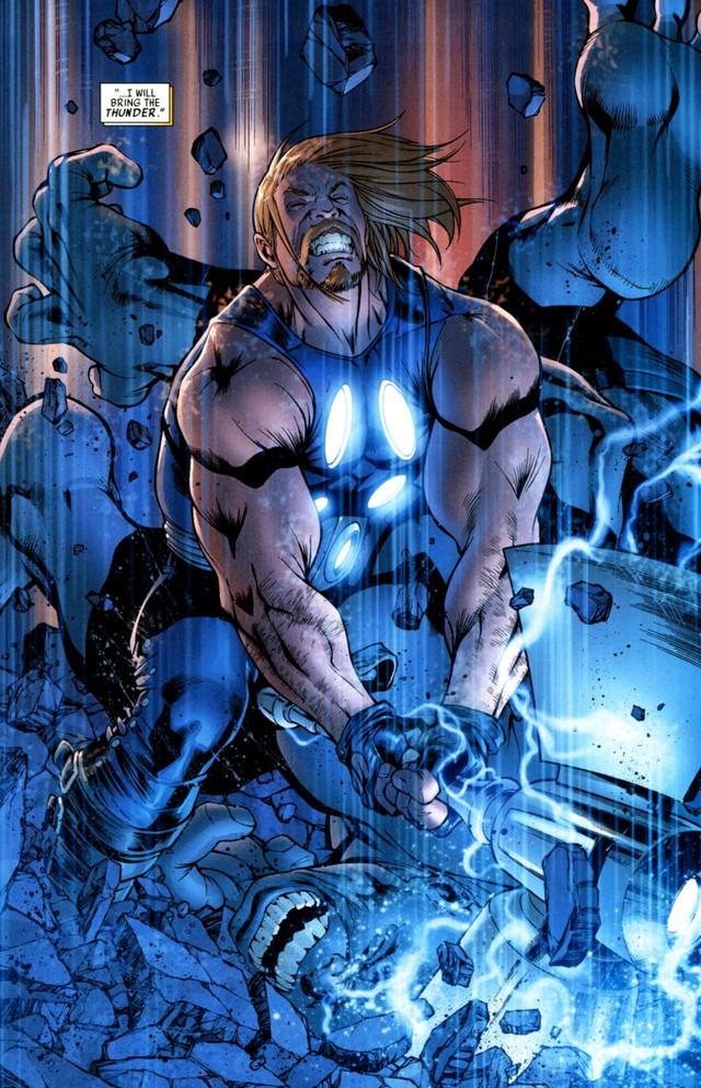 Avengers: Endgame - Liệu Cây rìu Stormbreaker của Thor có mạnh hơn Găng tay Vô Cực của Thanos? - Ảnh 3.