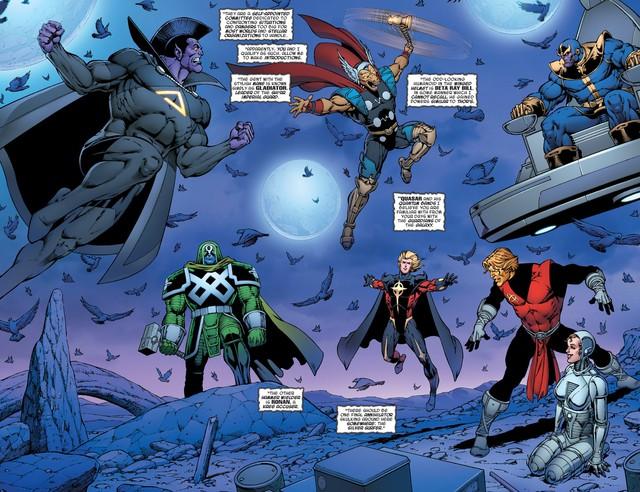 Avengers: Endgame - Liệu Cây rìu Stormbreaker của Thor có mạnh hơn Găng tay Vô Cực của Thanos? - Ảnh 1.