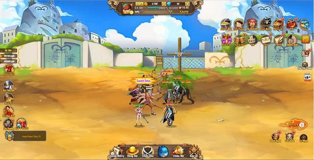 Ngắm nghía Vua Hải Tặc H5, game One Piece đa nền tảng sắp cập bến Việt Nam - Ảnh 1.