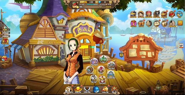 Ngắm nghía Vua Hải Tặc H5, game One Piece đa nền tảng sắp cập bến Việt Nam - Ảnh 4.