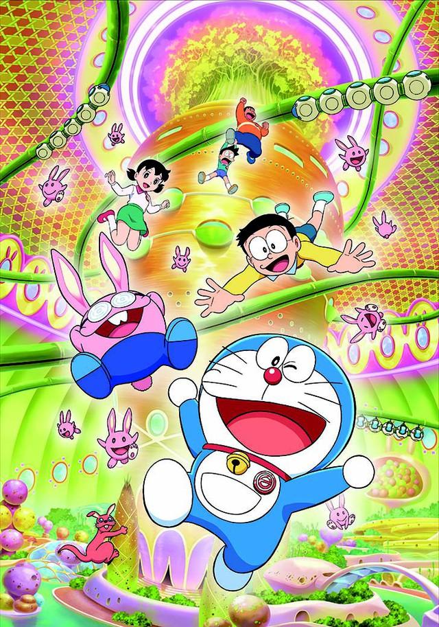 Đến hè lại lên, Doraemon hóa thỏ ngọc đốn tim khán giả trong chuyến phiêu lưu đến nhà chị Hằng - Ảnh 3.