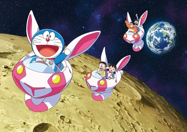 Đến hè lại lên, Doraemon hóa thỏ ngọc đốn tim khán giả trong chuyến phiêu lưu đến nhà chị Hằng - Ảnh 1.