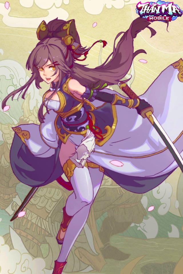 """Fan manga thích thú với nàng nữ chính """"Tsundere"""" trong Thần Ma Mobile: Ngoại hình chuẩn như siêu mẫu, sức mạnh thì """"bá đạo"""" khỏi bàn - Ảnh 2."""