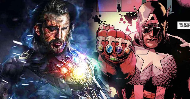 Avengers: Endgame - Nếu Captain America sử dụng Găng tay vô cực thì chắc chắn sẽ bị... nướng chín - Ảnh 2.