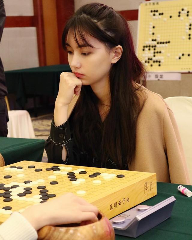 Kỳ thủ cờ vây xinh đẹp nhất Đài Loan: Đẹp như mỹ nữ truyện tranh, lại còn đánh cờ hay - Ảnh 2.